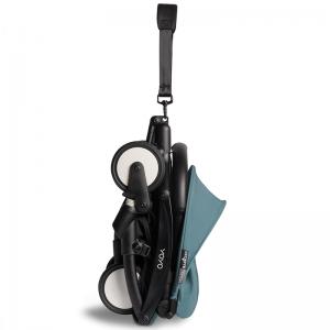 Babyzen Yoyo2 Stroller, 6+ Black/Aqua