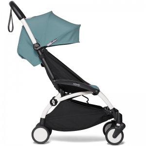 Babyzen Yoyo2 Stroller, 6+ White/Aqua