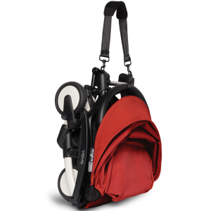 Babyzen Yoyo2 Stroller, 6+ Black/Red
