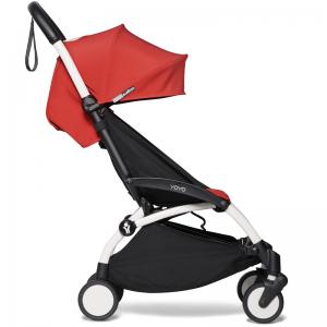 Babyzen Yoyo2 Stroller, 6+ White/Red