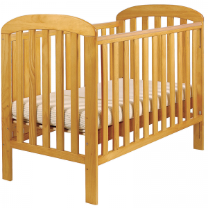 East Coast Anna Drop-side Cot- Antique