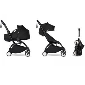 Babyzen YOYO² Complete Stroller Bundle - Black_Black