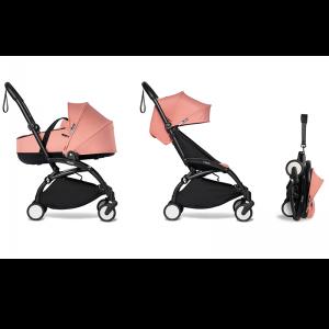 Babyzen YOYO² Complete Stroller Bundle -Black_Ginger