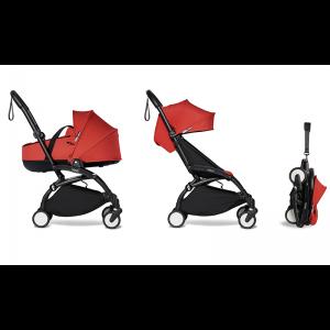 Babyzen YOYO² Complete Stroller Bundle - Black_Red