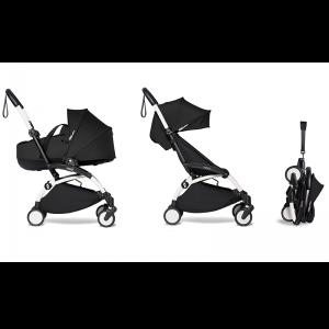 Babyzen YOYO² Complete Stroller Bundle - White_Black