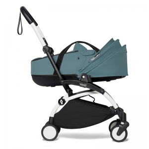 Babyzen YOYO² Stroller and Bassinet- White_Aqua