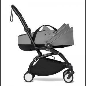 Babyzen YOYO² Stroller and Bassinet- Black_Grey