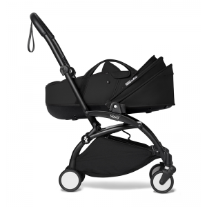 Babyzen YOYO² Stroller and Bassinet- Black_Black