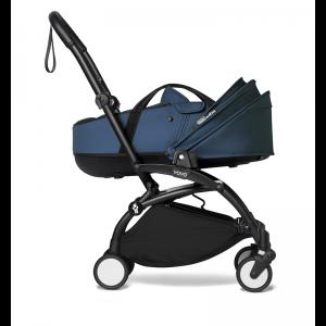 Babyzen YOYO² Stroller and Bassinet- Black_Navy Blue