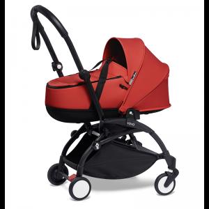 Babyzen YOYO² Stroller and Bassinet- Black_Red