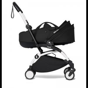 Babyzen YOYO² Stroller and Bassinet- White_Black