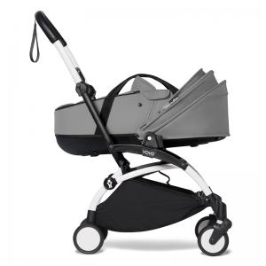 Babyzen YOYO² Stroller and Bassinet- White_Grey