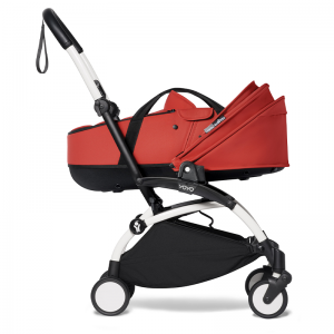 Babyzen YOYO² Stroller and Bassinet- White_Red