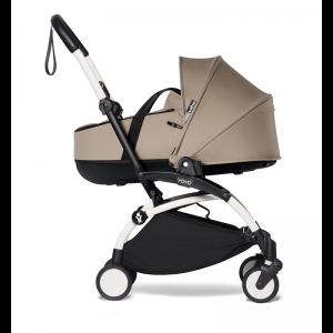 Babyzen YOYO² Stroller and Bassinet- White_Taupe