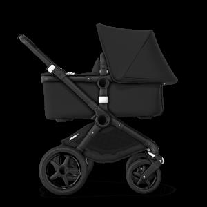 Bugaboo Fox² Complete Pushchair Bundle- Black