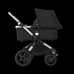 Bugaboo Fox² Complete Pushchair Bundle- Aluminium_Black