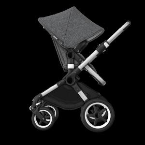 Bugaboo Fox² Complete Pushchair Bundle- Aluminium_Grey Melange
