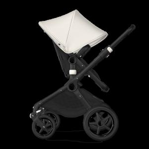 Bugaboo Fox² Complete Pushchair Bundle- Black_Black_Fresh White