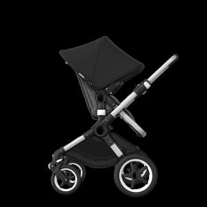 Bugaboo Fox² Complete Pushchair Bundle- Aluminium_Grey Melange_Black