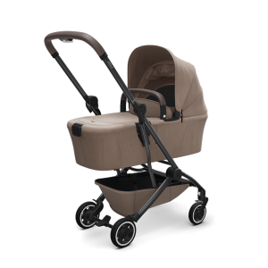 Joolz Aer Pushchair and Carrycot Bundle-Lovely Taupe
