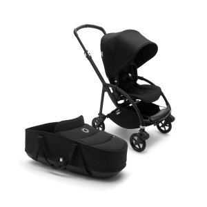 Bugaboo Bee 6 Pushchair, Seat and Carrycot - Black