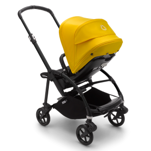 Bugaboo Bee 6 Pushchair and Seat - Black_Black_Yellow