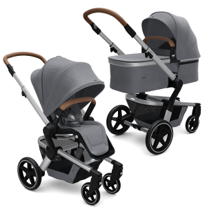 Joolz Hub+ Pushchair and Carrycot Bundle- Gorgeous Grey