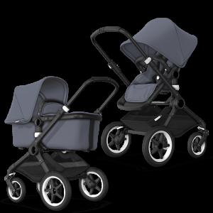 Bugaboo Fox² Complete Pushchair Bundle- Steel Blue