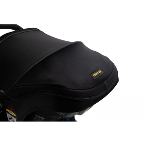 Doona Black and Gold Infant Car Seat Stroller with Essentials Bag - Limited Edition