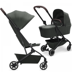 Joolz Aer Pushchair and Carrycot Bundle-Mighty Green