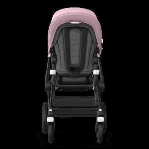 Bugaboo Fox² Complete Pushchair Bundle- Black_Grey Melange_ Soft Pink