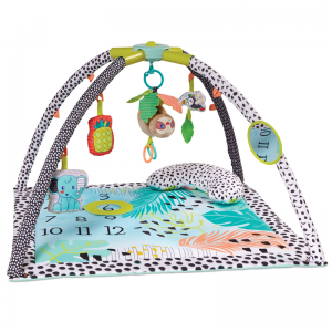 Infantino 4-in-1 Milestones & Memories Twist & Fold Gym