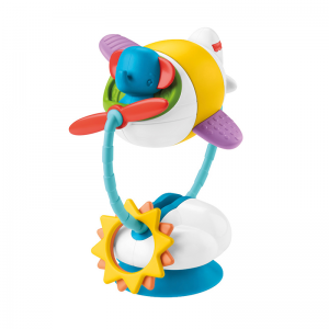 Fisher-Price Soar & Spin Aeroplane Suction Cup Toy