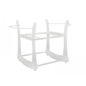 Rocking Moses Basket Stand White