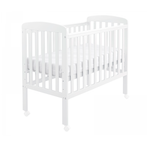 Space Saver Cot - White