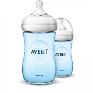 Philips Avent Natural Bottle Blue 260ml 2Pk (Copy)