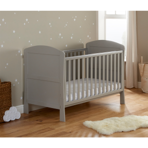 Aston Dropside Cot Bed - Grey
