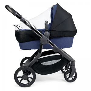 iCandy Orange Single Pushchair and Carrycot- Royal Blue Marl
