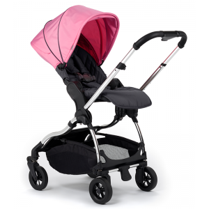 iCandy Raspberry Pushchair- Chrome, Piccadilly Pink