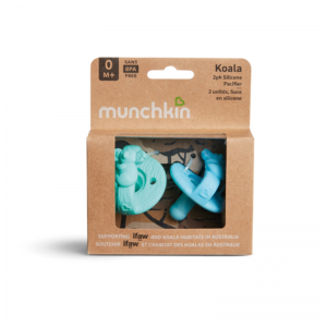Munchkin Koala WildLove Silicone Pacifiers 2pk