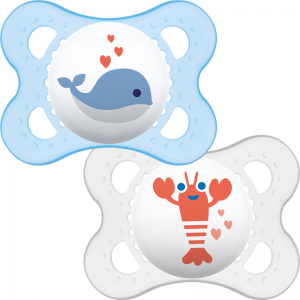 MAM Night Soother 0m+ 2Pk