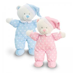Keel Toys Baby Goodnight Bear Assortment 16cm