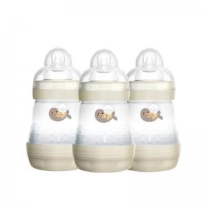 MAM Easy Start Anti-Colic Bottle White 160ml 3Pk
