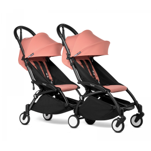 BABYZEN YOYO2 Complete Pushchair from Birth for Twins- Ginger