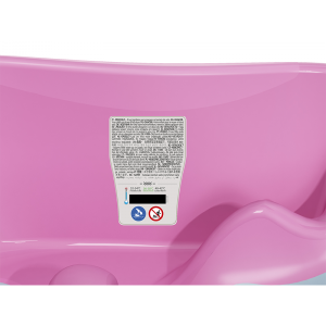 OK BABY Onda Evolution Baby Bath- Pink