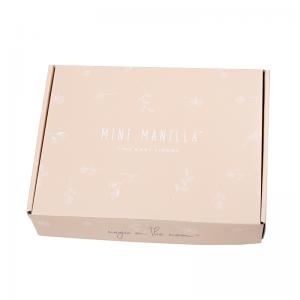 Mini Manilla Baby Asymmetrical Linen Set- Ecru/Pink