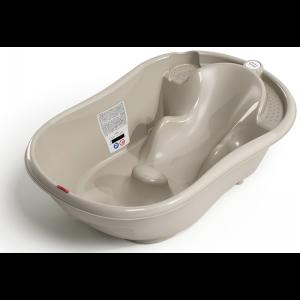 OK BABY Onda Evolution Baby Bath- Taupe