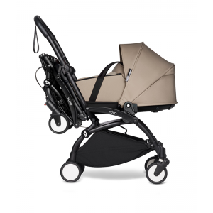 BABYZEN YOYO2 Complete Pushchair from Birth for Twins- Taupe