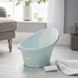Shnuggle Bath With Plug- Aqua