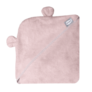 Shnuggle Wearable Baby Towel With Ears- Pink